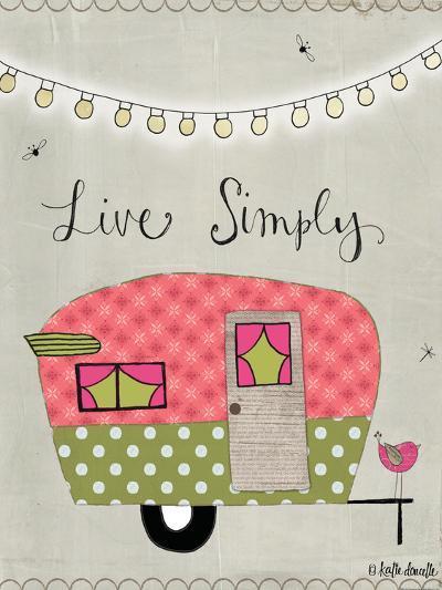 Simple Camper-Katie Doucette-Art Print