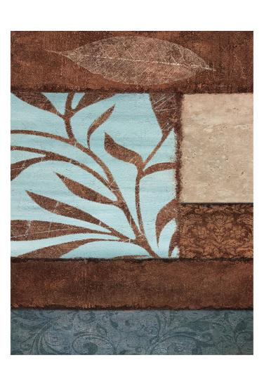 Simple Flow 1-Kristin Emery-Art Print