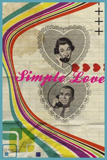 Simple Love-Elo Marc-Giclee Print