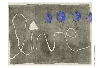 Simple Words III-Jennifer Goldberger-Art Print
