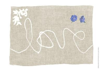 Simple Words VI-Jennifer Goldberger-Art Print