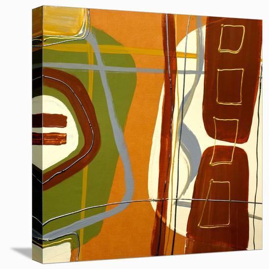 Simplicity II-Irena Orlov-Stretched Canvas Print