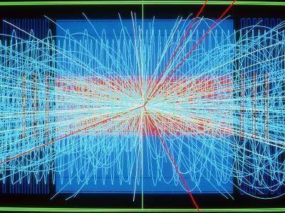 Simulation of Higgs Boson Production-David Parker-Photographic Print