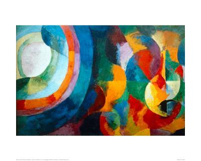 Simultaneous Contrasts: Sun and Moon, 1912-1913-Robert Delaunay-Giclee Print