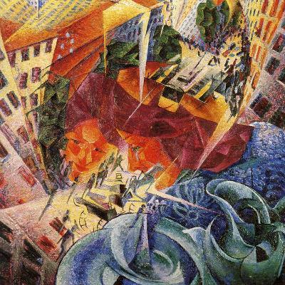 Simultaneous Visions-Umberto Boccioni-Giclee Print