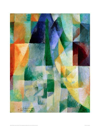 Simultaneous Windows, 1912-Robert Delaunay-Giclee Print