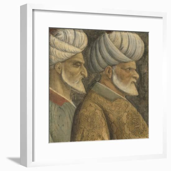 Sinan the Jew and Haireddin Barbarossa, C.1535--Framed Giclee Print