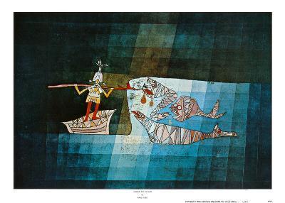 Sinbad the Sailor-Paul Klee-Art Print