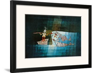 Sinbad the Sailor-Paul Klee-Framed Art Print