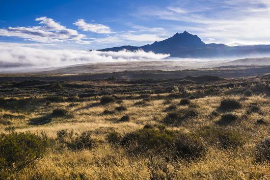 Sincholagua Volcano at Sunrise, Cotopaxi Province, Ecuador, South America-Matthew Williams-Ellis-Photographic Print