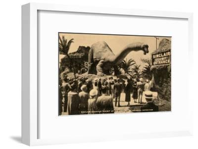 Sinclair Dinosaur Exhibit, Chicago World's Fair