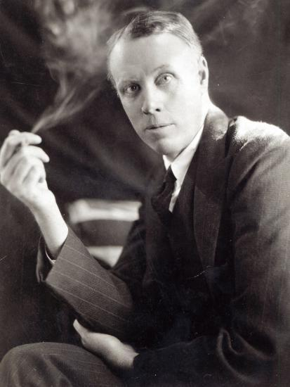 Sinclair Lewis (1885-1951), Photographed by Underwood and Underwood, 1930-Underwood & Underwood-Photographic Print