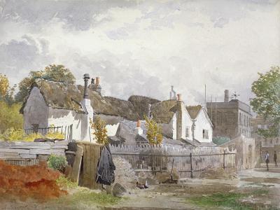Sindercombe's Cottage, Shepherd's Bush, Hammersmith, London, 1890-John Crowther-Giclee Print