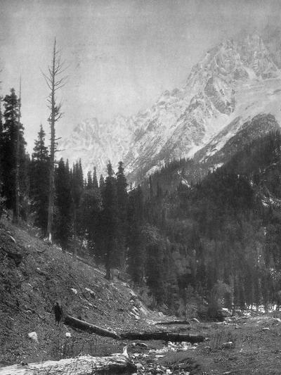 Sindh Valley Glaciers, Kashmir, India, Early 20th Century-F Bremner-Giclee Print