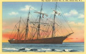 Sindia, Full-Rigged Clipper, Ocean City, New Jersey