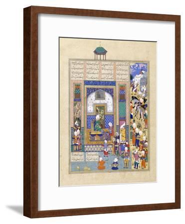 Sindukht Comes to Sam Bearing Gifts, C.1500-1540S