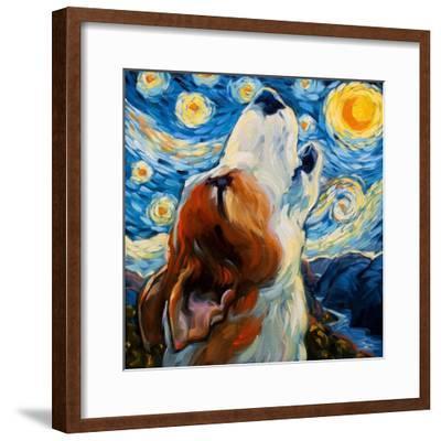 Sing-Connie R. Townsend-Framed Art Print
