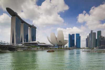 Singapore, Cityscape Full of Unique Skyscrapers-Walter Bibikow-Photographic Print