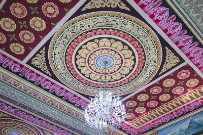 Singapore, East Singapore, Mangala Vihara Buddhist Temple, Ceiling-Walter Bibikow-Photographic Print
