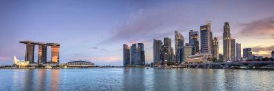 Singapore, Marina and City Skyline-Michele Falzone-Photographic Print