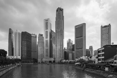 Singapore Skyline-Paul Souders-Photographic Print