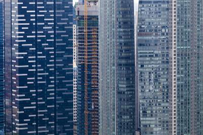 Singapore Skyscraper Detail at Marina Bay-Harry Marx-Photographic Print