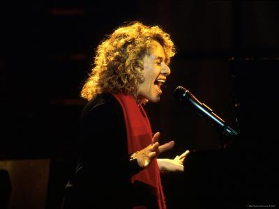 Singer and Songwriter Carole King Performing-Marion Curtis-Premium Photographic Print