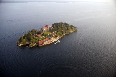 Singer Castle On Dark Island in Thousand Islands-Will Van Overbeek-Photographic Print