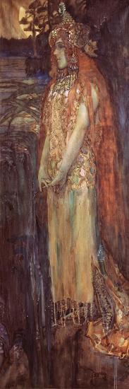 Singer Nadezhda Zabela-Vrubel As Princess Volkhova in the Opera Sadko--Giclee Print