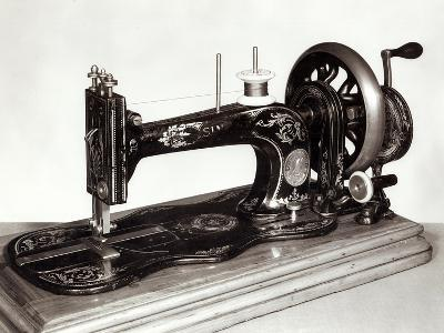 "Singer ""New Family"" Sewing Machine, 1865--Giclee Print"