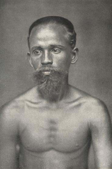 'Singhalesischer Arbeiter aus dem Niederland', 1926-Unknown-Photographic Print
