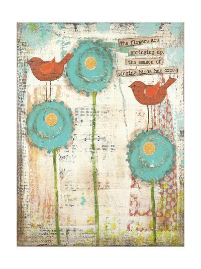 Singing Birds-Cassandra Cushman-Art Print