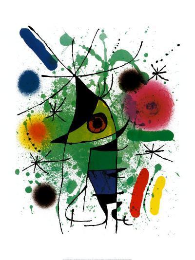 Singing Fish-Joan Mir?-Art Print
