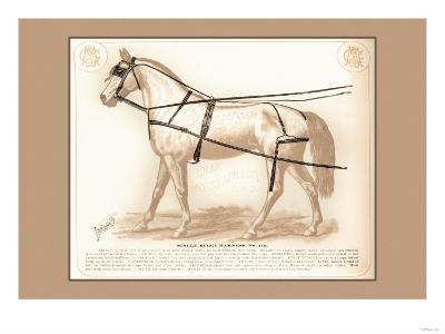 Single Buggy Harness--Art Print