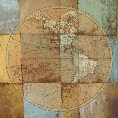 Single Map-Elizabeth Medley-Premium Giclee Print