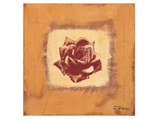 Single Rose-Anna Flores-Art Print