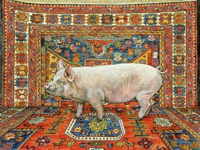 Singleton Carpet Pig-Ditz-Giclee Print
