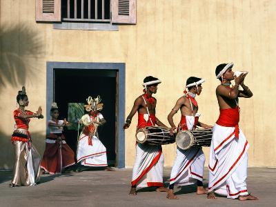 Sinhalese Dancers, Sri Lanka--Photographic Print