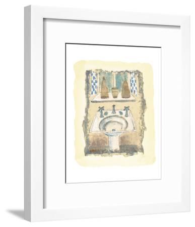 Sink-o-Fun-Jane Claire-Framed Art Print
