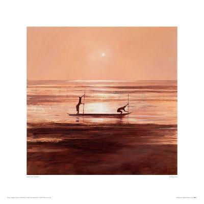 Sinking Sun-Jonathan Sanders-Giclee Print