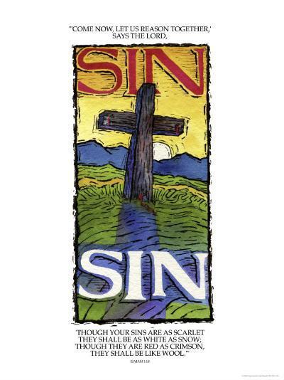 Sins White as Snow-Linda Braucht-Giclee Print