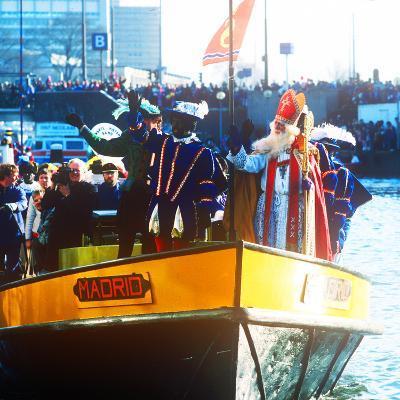Sinterklaas Procession, Amsterdam, Holland--Photographic Print