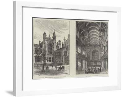 Sion College-Frank Watkins-Framed Giclee Print