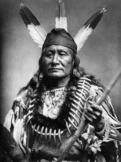 Sioux Man, C1890--Photographic Print
