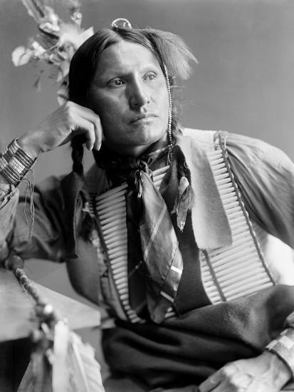 Sioux Native American, C1900-Gertrude Kasebier-Photographic Print