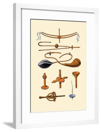 Siphons and Drains-Jules Porges-Framed Art Print