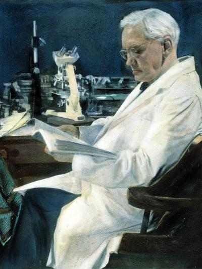 Sir Alexander Fleming--Photographic Print