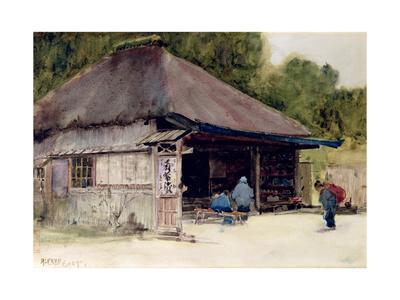 Tea-House in the Village of Hakone, c.1889