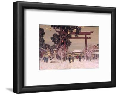 View of a Shinto Shrine, c.1889