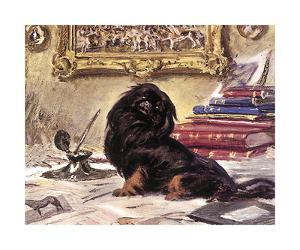 Black Knight by Sir Alfred Munnings